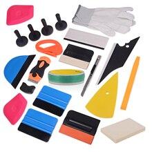 EHDIS Vinyl Knifeless Tape Design Line Car Wrap Squeegee Scraper Carbon Foil Film Window Tint Tool Sticker Accessories Kit