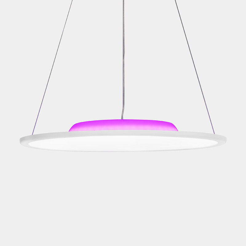 OFFDARKS LCD YB 36 36W LED de Control remoto altavoz inteligente Bluetooth luz colgante - 4