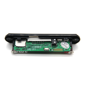 Image 3 - D091BT 핸즈프리 MP3 플레이어 디코더 보드 5V 12V 블루투스 5.0 6W 앰프 자동차 FM 라디오 모듈 지원 FM TF USB AUX 레코더