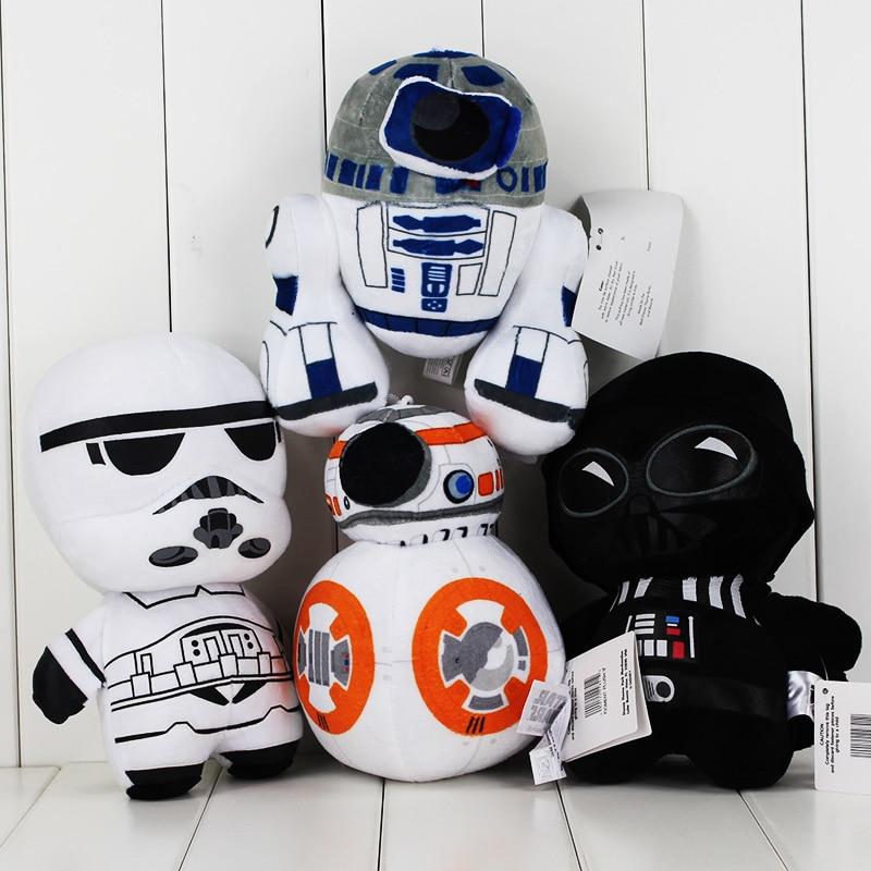 4 Stijlen Star Wars 20 Cm De Force Wekt Bb8 R2d2 Stormtrooper Kylo Ren Darth Vader Knuffel Hanger Pop Materialen Van Hoge Kwaliteit
