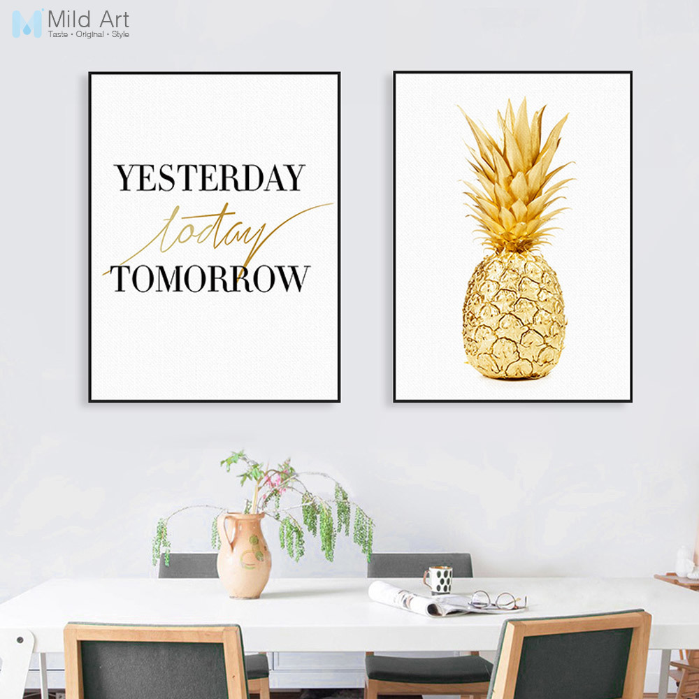 Pineapple Life Inspirational Quote A4 Print Poster Picture Art Framed Gift Home