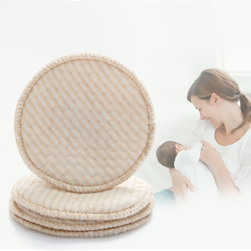 10PCS Washable Organic Cotton Absorbency Breastfeeding Pads Maternity Nursing Pad Baby Feeding Pad Mommy Necessary