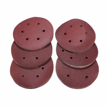 60pc 6'' 150mm Self Adhesive Sanding Disc Sandpaper 60 80 120 240 320 Mixed Grit