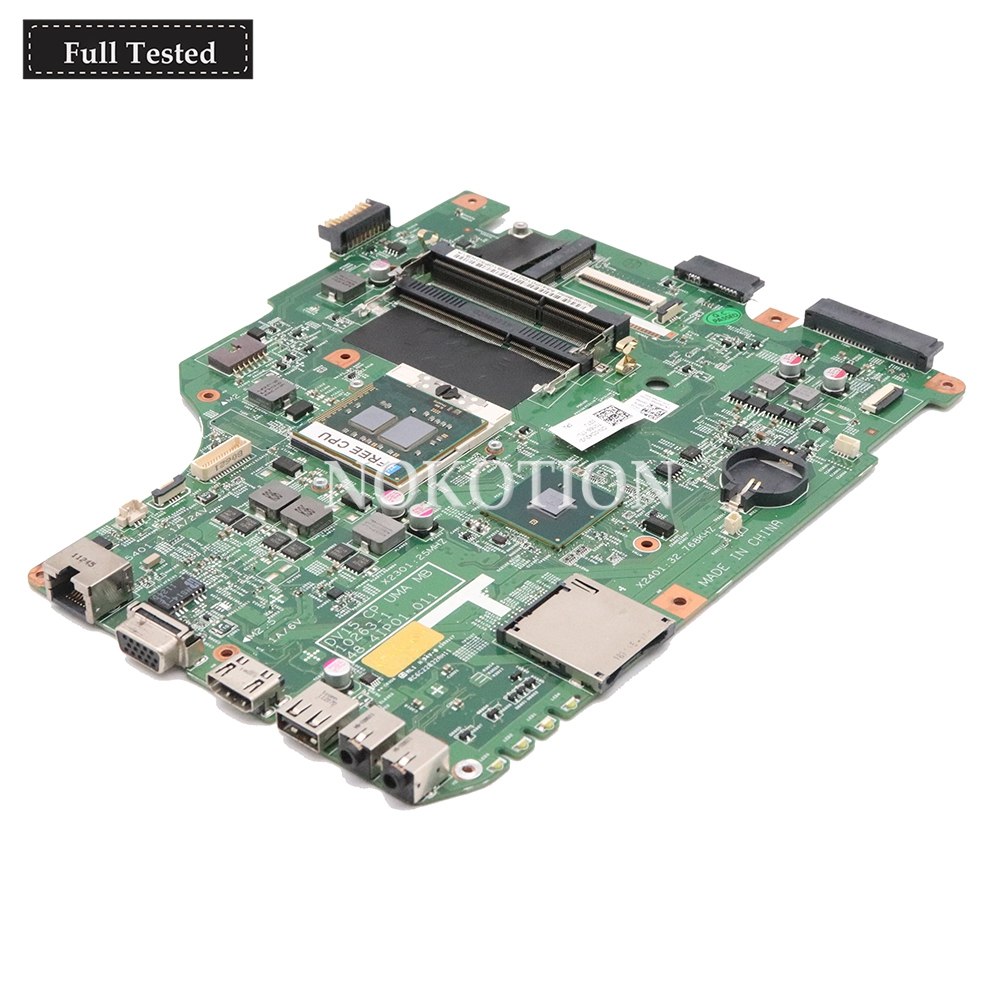 NOKOTION CN 0X6P88 0X6P88 48 4IP01 011 MAIN BOARD For Dell Inspiron N5040 Laptop Motherboard HM57