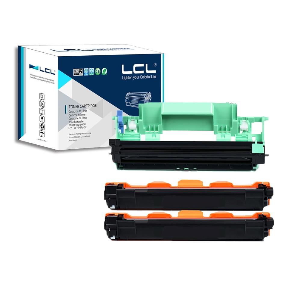 LCL TN1030 DR1030 (3-Pack Black) Toner Cartridge Compatible for Brother HL1110/1110R/1111/1112/1112R/MFC1810/1810R/1811/1813