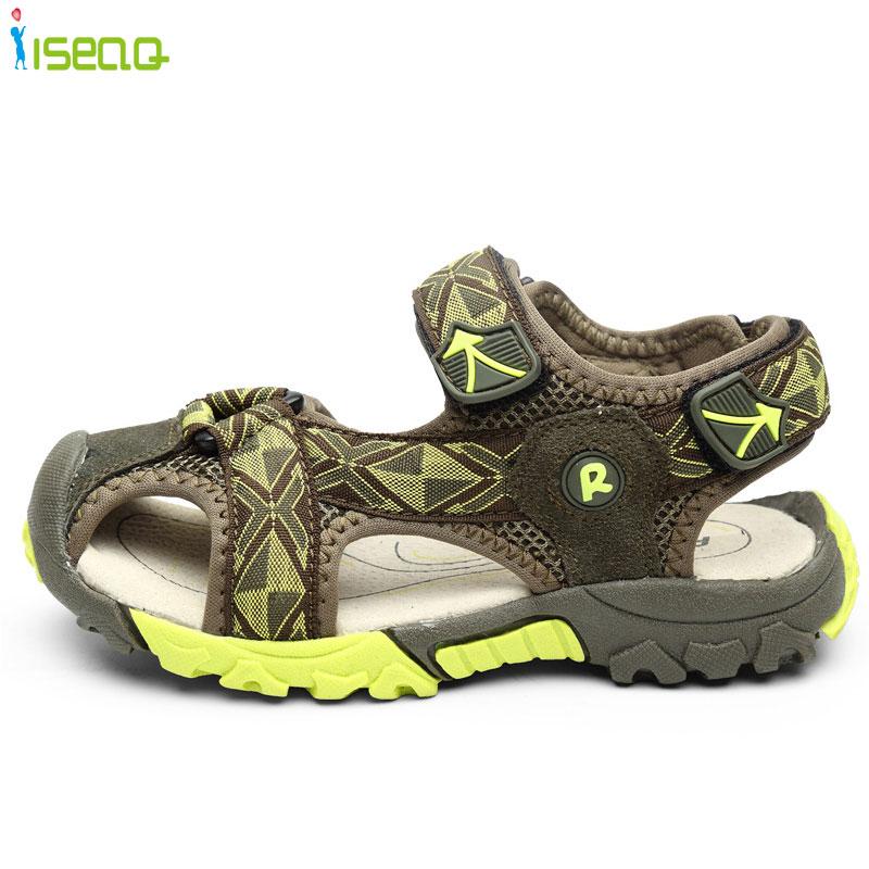 Sommer ny stil Børn drenge sandaler sko drenge fashion cut-out - Børnesko - Foto 5