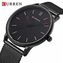 Mens Top Brand Watches CURREN Luxury Qua