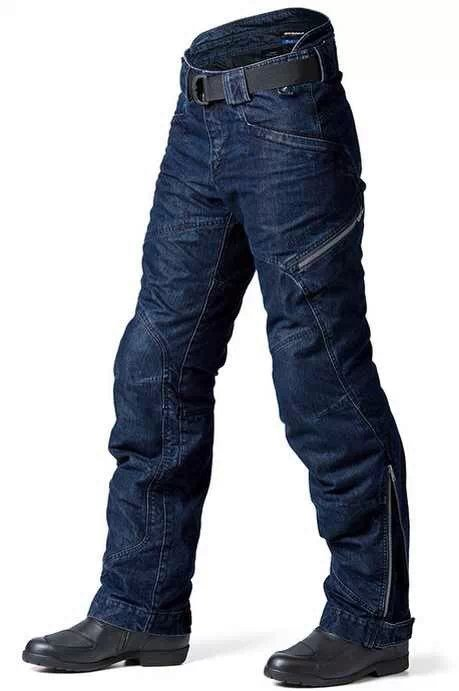 PRMCN R1 Motorcycle Men's Off-road Outdoor Jeans Motorbike Motorcycle Harley Rider Loose-fitting Jeans Pants With Protectors