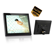 12 inch digital photo frame full function(4:3, 800*600, slide show, music,TF,1080P video playback, VESA 75*75mm, remote control)