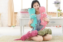 small cute new plush hippo toy lovely cartoon hippo doll gift about 60cm