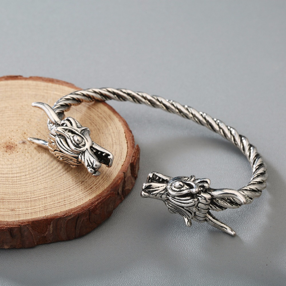 Bracelet Viking Dragon hommes 3