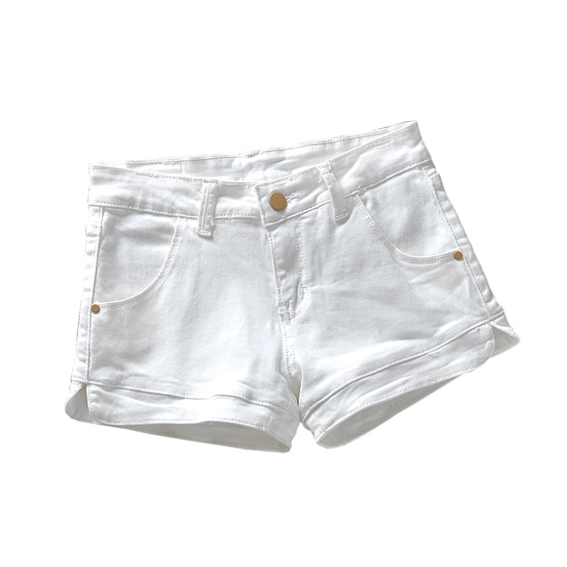 2019 best sell search for genuine amazing selection US $18.5 50% OFF|Plus Size 3XL White Denim Shorts Women 2019 Summer Stretch  High Waist Short Jeans Sexy Short Femme Denim Trousers Women C4043-in ...