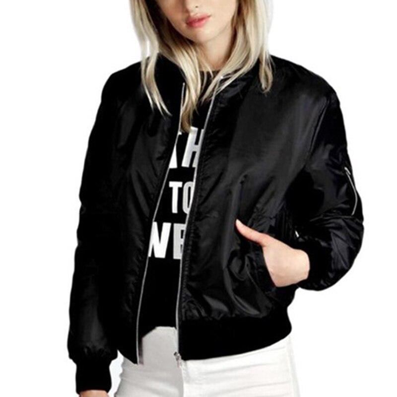2019 Coat and   Jacket   Women Fashion Women's   Jacket   Summer Long-Sleeved   Basic     Jacket   Thin Coat Zipper   Jacket