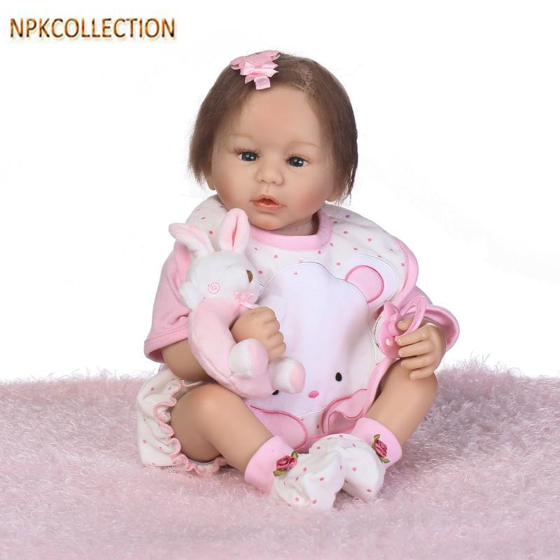 Silicone Reborn Baby Dolls 50CM Baby Alive Born Dolls for Children Gifts,20 Inch Real Dolls Baby Alive Soft Toys Brinquedos hot sale toys 45cm pelucia hello kitty dolls toys for children girl gift baby toys plush classic toys brinquedos valentine gifts