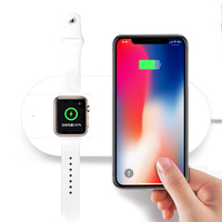 New Design Wireless Charger For iPhone X 8 Wireless Charger Pad For Samsung S8 S7 S6 Galaxy Note 8 For NEXU S4 S5 S6 S7