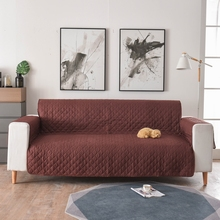 Sofa Couch Cover Chair Throw Pet Dog Kids Mat Furniture Protector Reversible Washable Removable Armrest Slipcovers