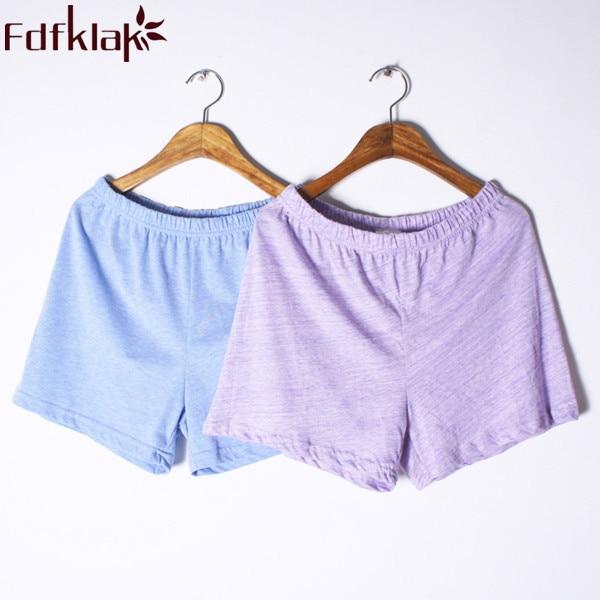 Ladies Pajama Bottoms 2020 Summer New Fashion Loose Shorts For Sleep Pant Pyjama Bottoms Cotton Women Sleeping Trousers Q281
