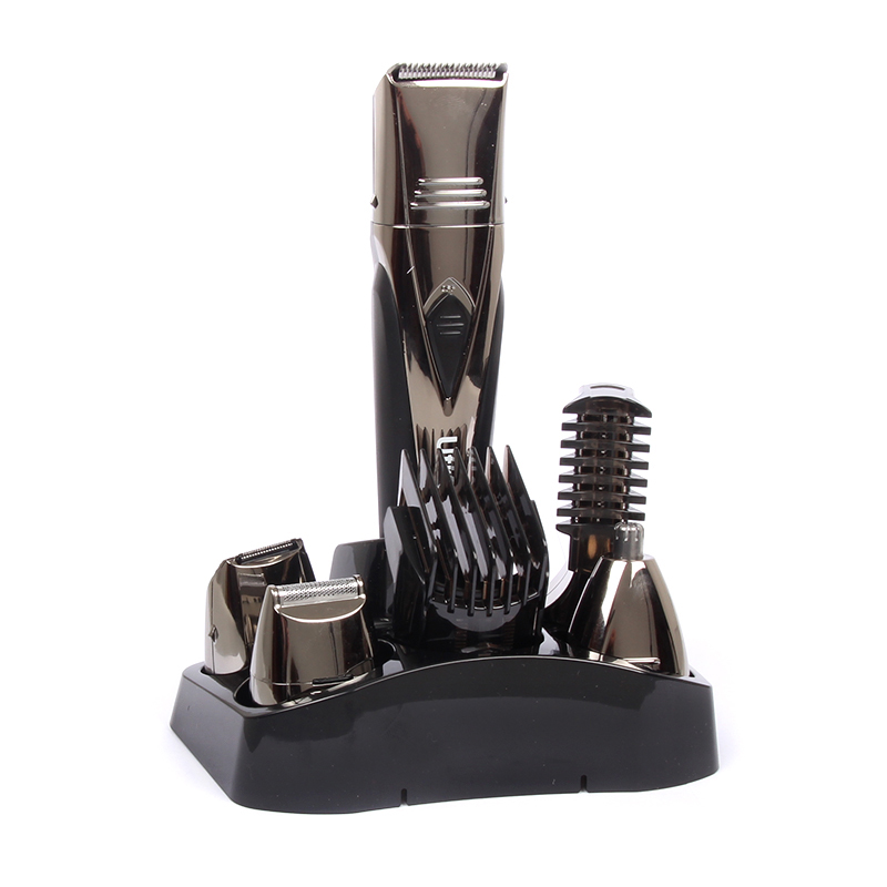 5 in 1 Multifuction Hair Clipper Professional Hair Cutter Electric Shaver Razor Hair Cutting Machine Barber NoseTrimmer 100-240V