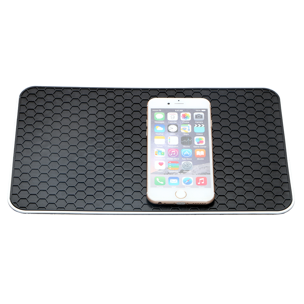 Image 3 - FORAUTO Car Anti Slip Mat Auto Silicone Non Slip Mat Pad Car Dashboard Sticky for Mobile Phone Coin Key Holder Auto Accessories-in Anti-Slip Mat from Automobiles & Motorcycles