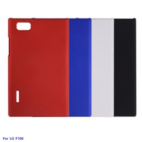 New Arrival Case For LG F100 Rubber Matte Hard Back Plastic Case Cover For LG F100