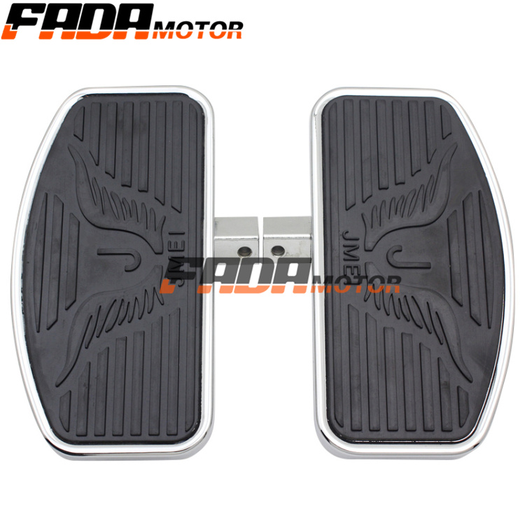 цена one pair Motorcycle Front Rear Foot Rests Footpeg for HONDA YAMAHA Dragstar V-STAR DS400 DS650 Virago XV250 CA250 MAGNA VF250