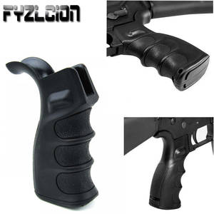 Tactical Accessories Polymer Ergonomic Rifle Pistol Grips Pistol  Handle Finger Grooves w Storage