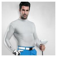 Freies verschiffen pgm männer golf tuch uv sonnenschutz hemd ice strumpfhosen t-shirt frühling sommer t-shirt polo unterwäsche shirts