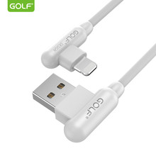 GOLF USB Cable for iPhone X 8 7 6 Plus 5 6S Fast Charging Cord Mobile Phone USB Data Cables for iPhone 5S 5C SE USB Charger Wire(China)
