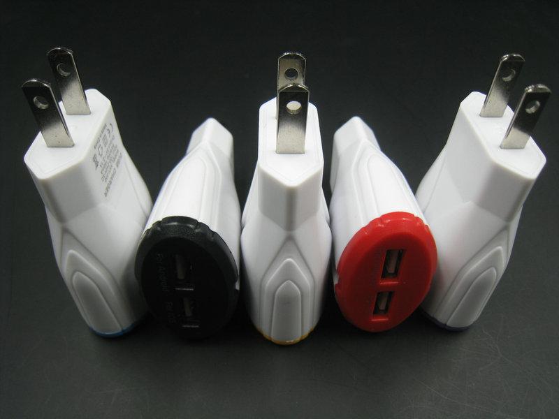 2017 Adaptador de cargador USB de viaje a casa UE EE. UU. Plug - Accesorios y repuestos para celulares