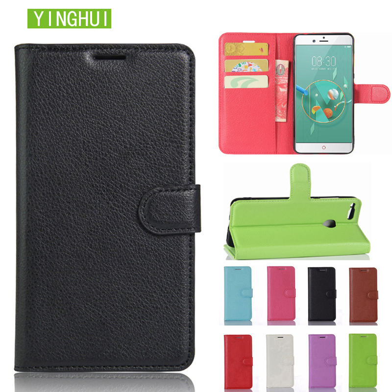Leather <font><b>case</b></font> For ZTE <font><b>Nubia</b></font> <font><b>Z17</b></font> <font><b>Mini</b></font> phone <font><b>case</b></font> cover flip leather <font><b>case</b></font> cover wallet card holder book <font><b>Case</b></font> For ZTE <font><b>Nubia</b></font> <font><b>Z17</b></font> image