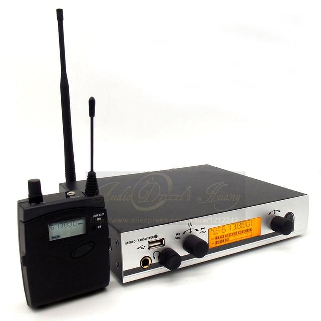 EW300 IEMG3 In Ear Monitor Wireless System With USB Function!! Quality EW100 IEM G3 / G3 IEM EK 300 Monitoring with in Earphone