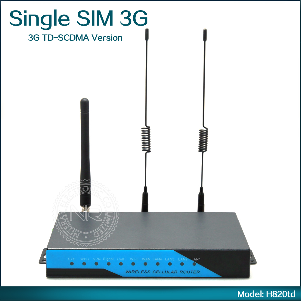 Outdoor Long Range 3G Portable Wireless Wifi Router with SIM Card Slot and GSM Model H820td