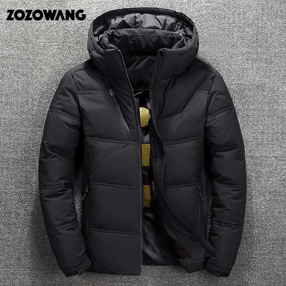 Image 3 - ZOZOWANG High Quality White Duck Thick Down Jacket men coat Snow parkas male Warm Brand Clothing winter Down Jacket Outerwear-in Parkas from Men's Clothing