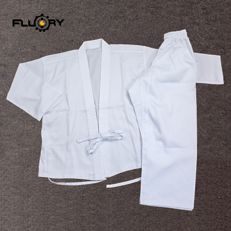 High Quality Karate Uniform Student Training Suit Children And Adult Karate Performance Breathable Clothing   Equipment
