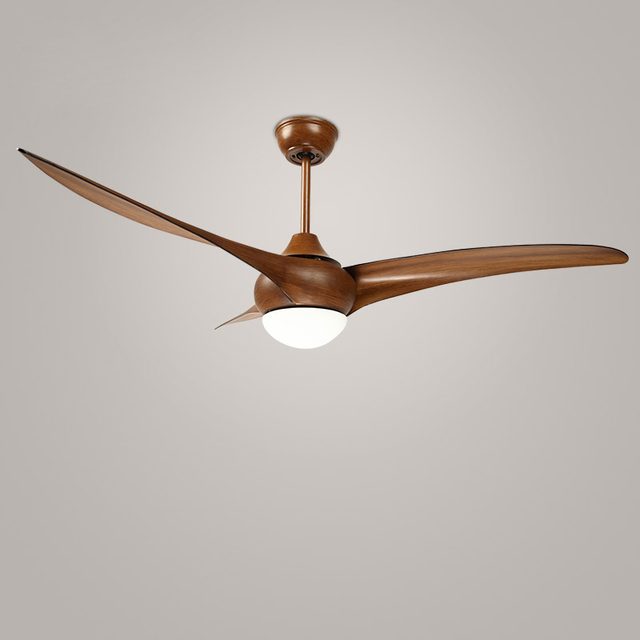 52 inch Amerikaanse vintage loft led plafond ventilator licht DC ...