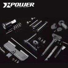 XPOWER Airsoft AEG 페인트 볼 금속 액세서리 Maopul Magzine 릴리스 선택기 M4 수신기 기어 박스 젤 블래스터