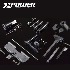 XPOWER Airsoft AEG Paintball Metal Accessories Maopul Magzine Release Selector M4 Receiver Gearbox Gel Blaster
