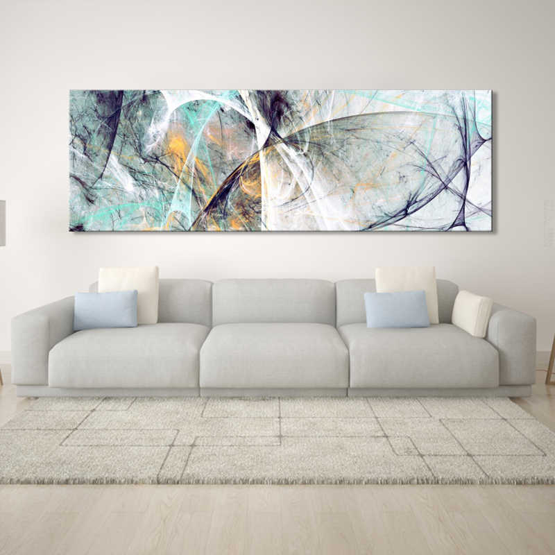 Wall Painting Abstract Art Oil Painting Posters and Prints Wall Art Canvas Painting Creative Line Pictures for Living Room Decor