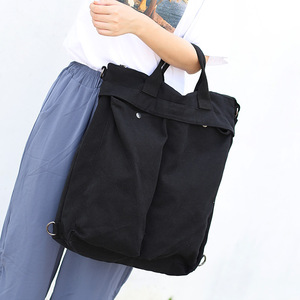 Image 4 - High Quality Mens Backpack Vintage Canvas Shoulder Bag School Bag Men Women Travel Bags Large Capacity Laptop Backpack Bag