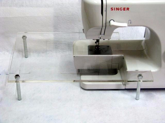 Sewing Machine High quality acrylic Extension Table FOR SINGER 8280