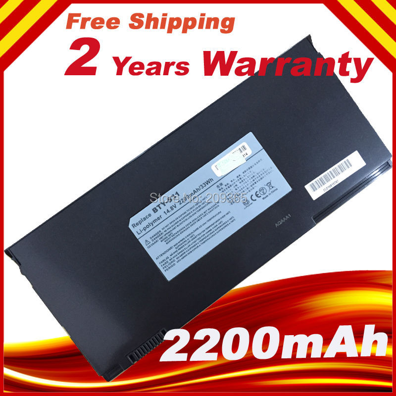 ORIGNAL Laptop Battery BTY-S31 BTY-S32 FOR MSI S30 X320 X320X X340 X340X X350 X350X X360 X360X X370 X370X X400