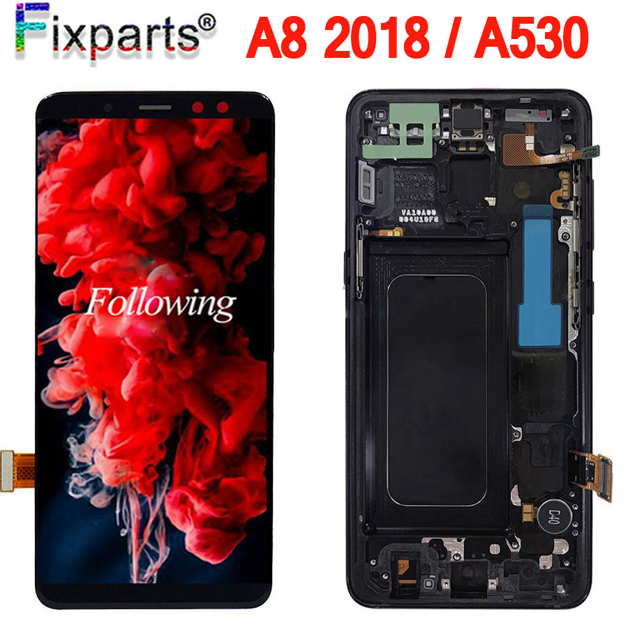 Warranty Tested Screen 5.6 For Galaxy SAMSUNG A530 LCD Touch Screen Digitizer Assembly for samsung Display A8 2018 ReplacementWarranty Tested Screen 5.6 For Galaxy SAMSUNG A530 LCD Touch Screen Digitizer Assembly for samsung Display A8 2018 Replacement