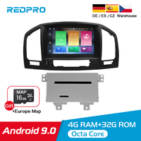 Android 9.08.0 car dvd Stereo radio Player For Opel Vauxhall Insignia CD300 CD400 2009 2012 Auto Video GPS Navigation Multimedia
