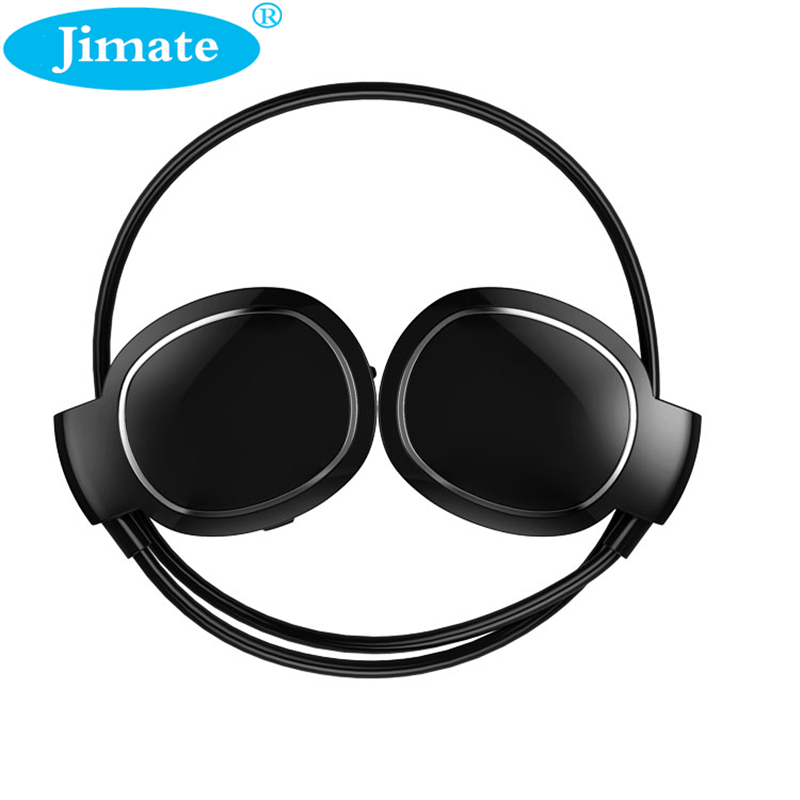 JIMATE Bluetooh Sport Earphone Touch Control Headphone Audio Sweatproof Running Headset With Mic Ear Hook For All Mobile Phone