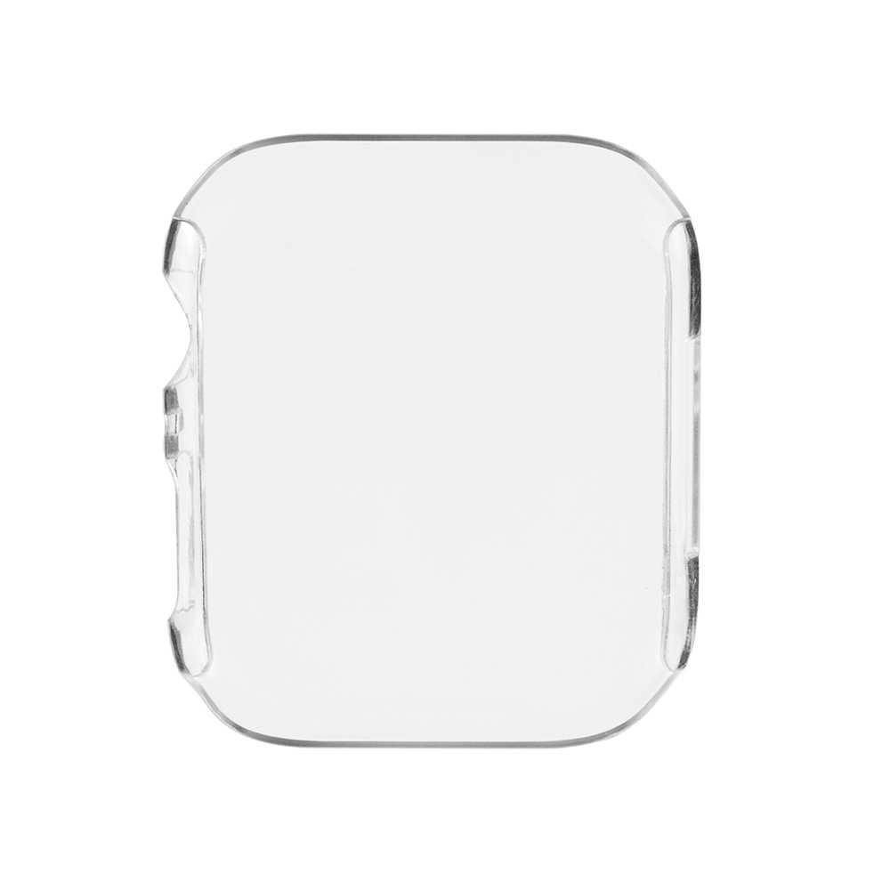 TAMISTER coloré PC cadre housse pour Apple Watch 40mm 44mm Ultra-mince Transparent dur complet de protection crique pour iwatch 4