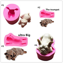 Gadgets - Very large 3D Shar Pei Mousse Cake Mold, soap mold of a puppy the dog molds silicone animals mould