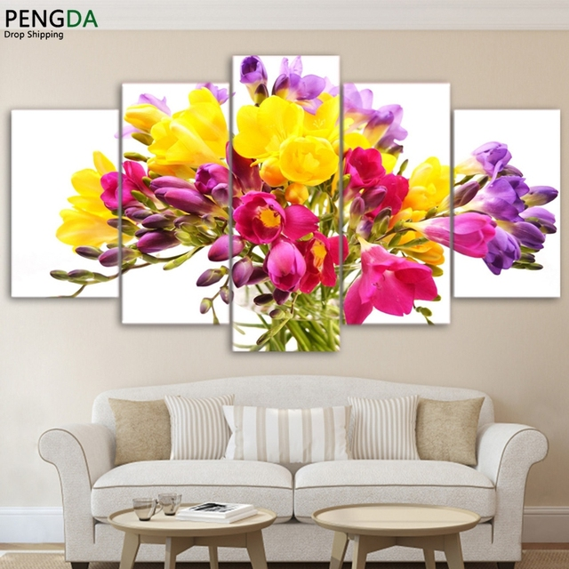 Canvas Painting Wall Art Poster Frame Home Decor For Living Room 5 ...