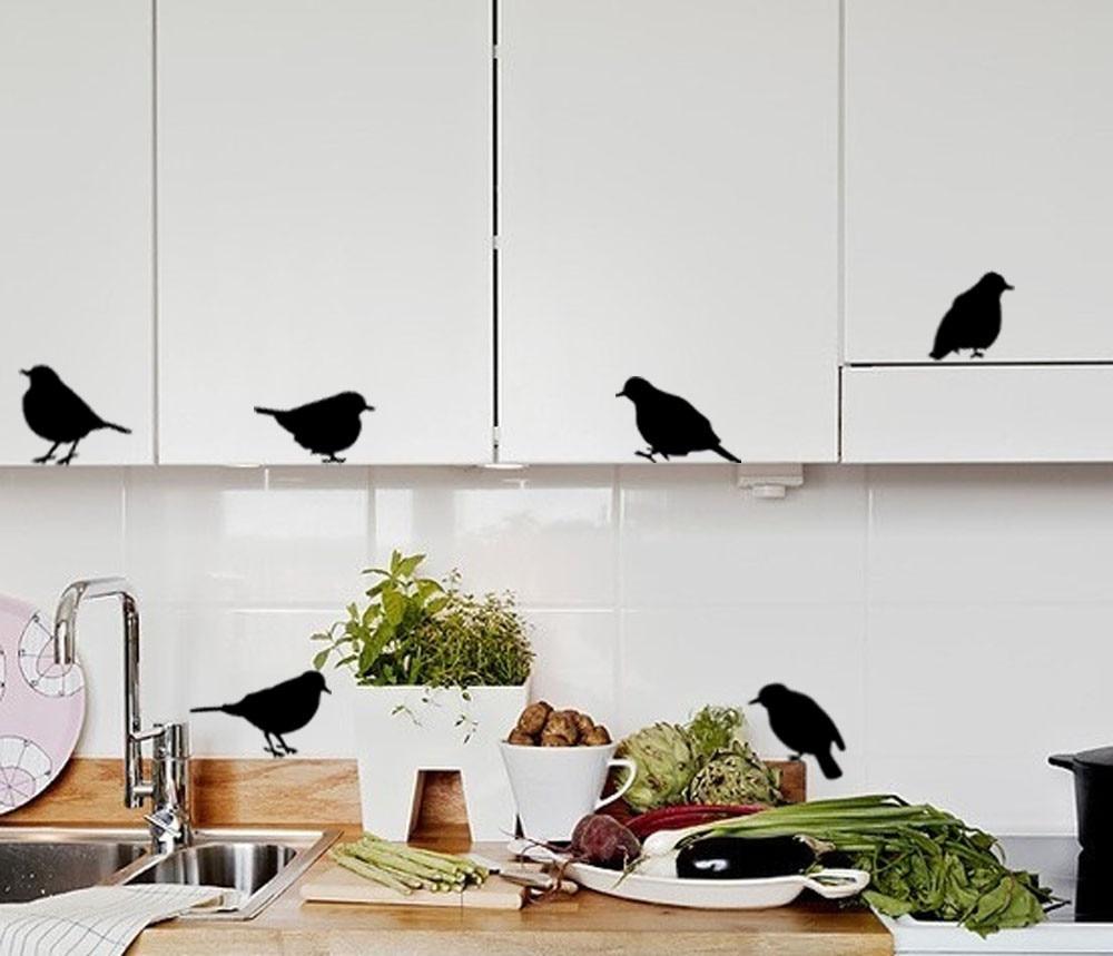 Bird decor bathroom - Diy Flying Birds Art Wall Stickers Vinilos Infantiles Removable Decals Mural Home Room Decor Vinilos Adhesivos Decorativos Pared