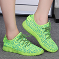 Las nuevas mujeres del diseño caliente Otoño ligero respirable del acoplamiento del aire zapatos casuales plana Femenina ocio Mujer zapatillas NO LOGO G101