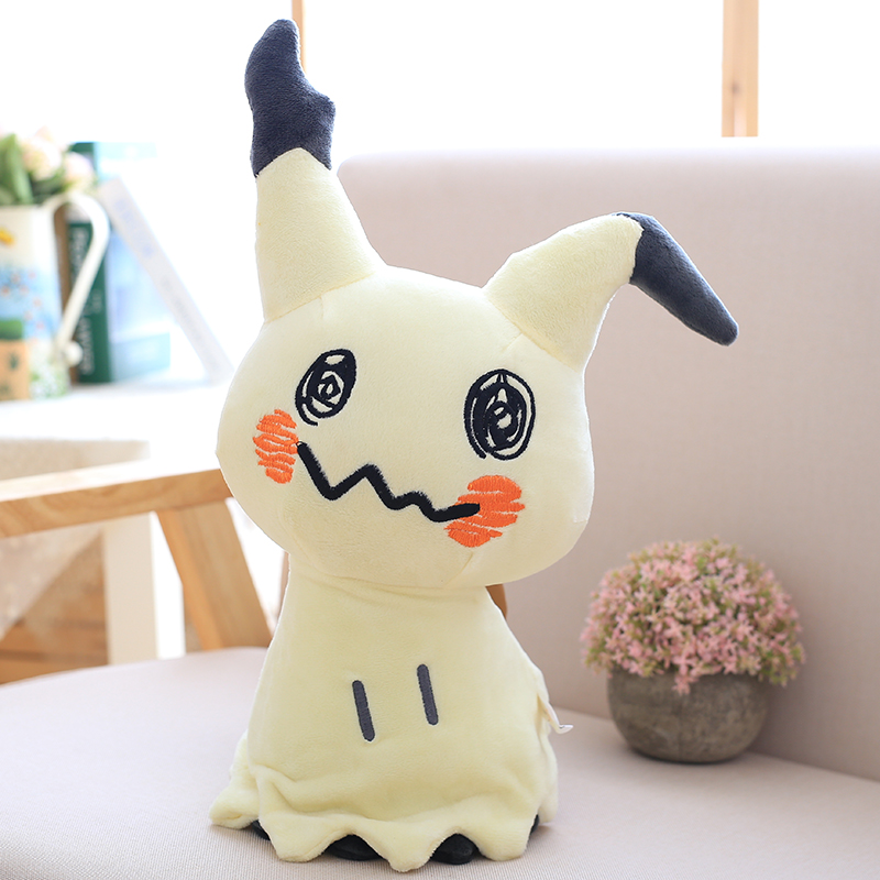 30cm Mimikyu Plush Toys Cartoon Anime Sun Moon Mimikyu Pikachu Stuffed Soft Doll Kids Toy Birthday Gift For ChildrenMovies & TV   -